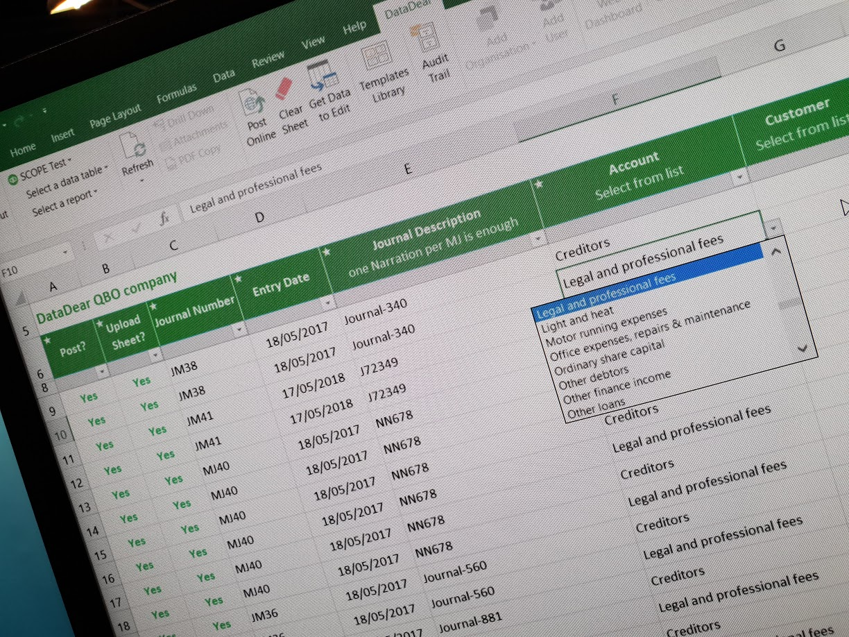 Product releases: May 2018 - DataDear Excel Add In for Xero