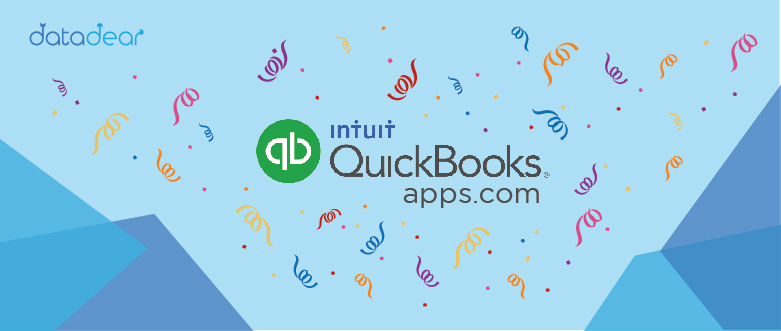 Photo of DataDear gets listed on the QuickBooks apps.com store
